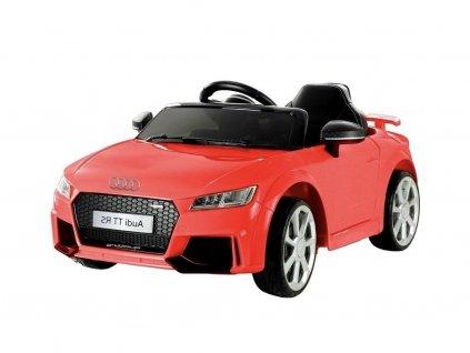 Elektrické autíčko Audi TT RS Quattro červené 1