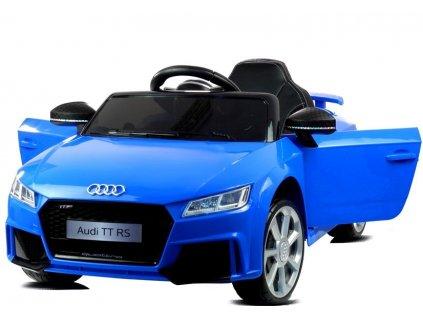 Elektrické autíčko Audi TT RS Quattro modré 1