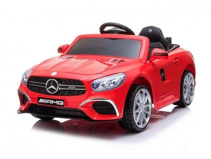 lektrické autíčko Mercedes SL63 červený 1