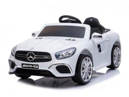 Elektrické autíčko Mercedes SL63 bílé 4