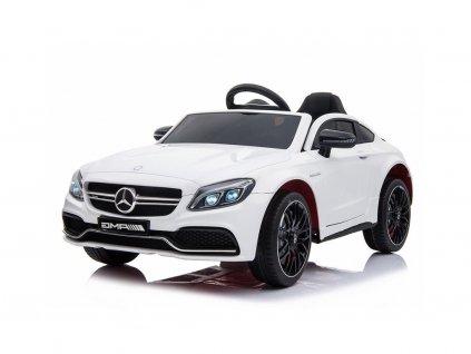 Elektrické autíčko Mercedes C63 bílé 1