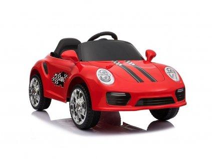 Elektrické autíčko S2988 červené 2