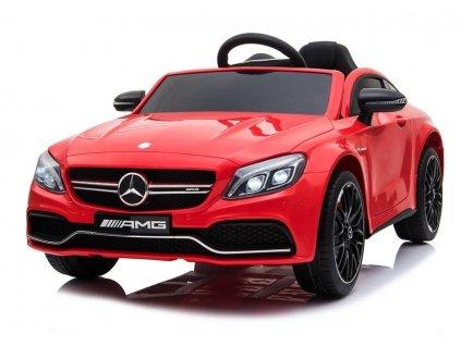 Elektrické autíčko Mercedes C63 červené 1
