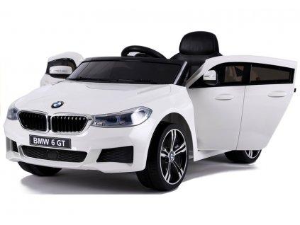 Elektrické autíčko BMW 6 GT 2x45W bílé