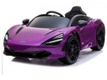 Elektrické autíčko McLaren 720s fialové 1