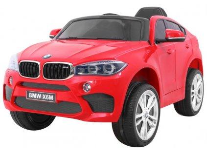 Elektrické autíčko BMW X6M červené