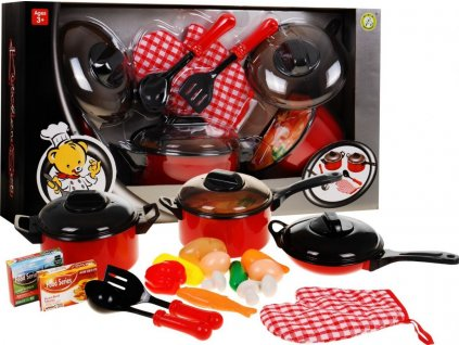 kuchyňské příslušenství kastrol pánev rukavice 1