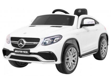 dětské elektrické auto Mercedes Benz GLE63 AMG bílý 1