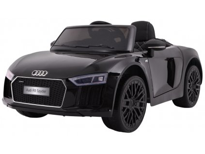 Elektrické autíčko Audi R8 Spyder lakované černé