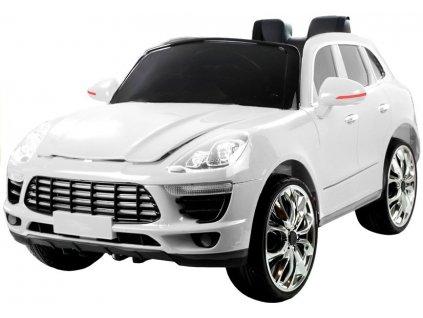 Dětské elektrické autíčko QLS8588 bílé 1