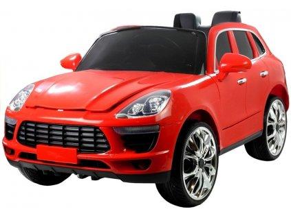 Dětské elektrické autíčko QLS8588 červené 1