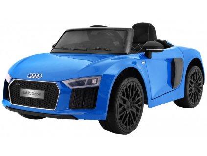 Elektrické autíčko Audi R8 Spyder lakované modré