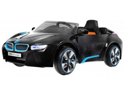Pojazd BMW i8 Czarny [36614] 1200