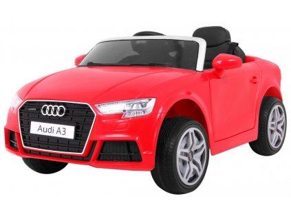 dětské elektrické auto audi a3 červené 1