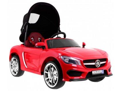 Dětské elektrické auto se stříškou Roadster červené 1