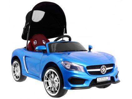 dětské elektrické auto se stříškou Roadster modré 1