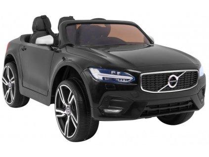 Dětské elektrické auto Volvo S90 černé 8