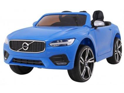Dětské elektrické auto Volvo S90 modré 1