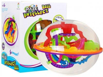 3D Zábavný hlavolam labyrint koule