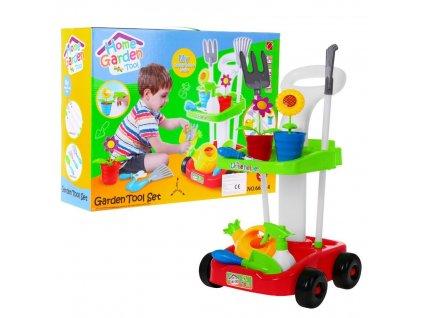 Záhradní nářadní set s vozíkem