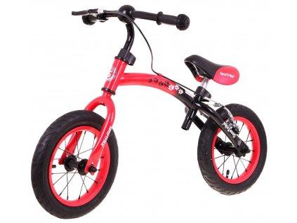 Dětské odrážedlo Boomerang 2v1 červené