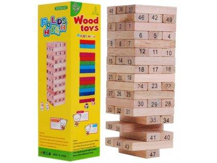 Hra Jenga dřevěná