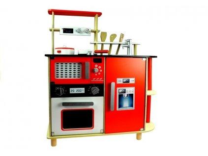 Dětská dřevěná kuchyňka s příslušenstvím