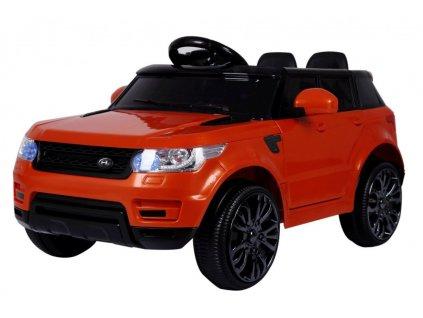 Elektrické autíčko Land Rapid Racer oranžový