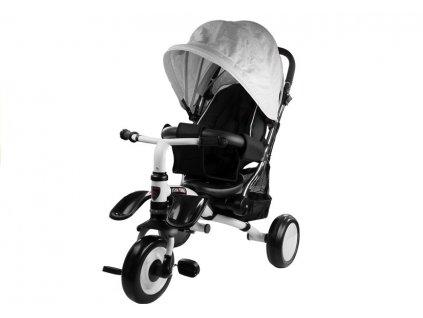 Dětská tříkolka PRO400 stříbrná