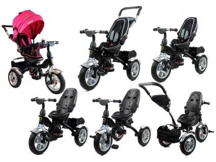 Dětská tříkolka PRO600 růžová