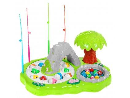 Dětská společenská hra rybičky + rybářský prut