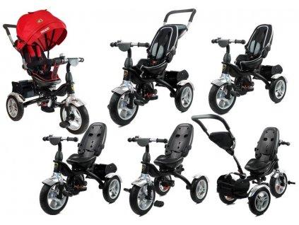 Dětská tříkolka PRO600 červená