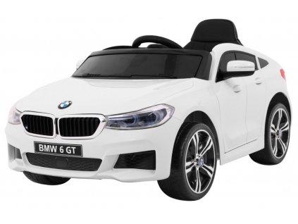 Elektrické autíčko BMW 6 GT bílé