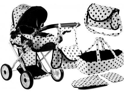 Kočárek pro panenky Alice 2v1