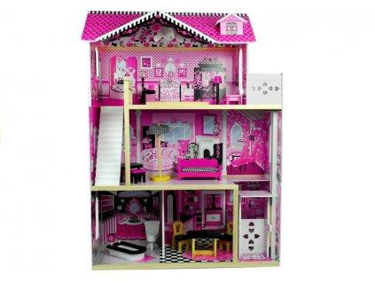 Dřevěný domeček pro panenky 121cm