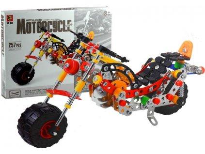 Dětská stavebnice motorka