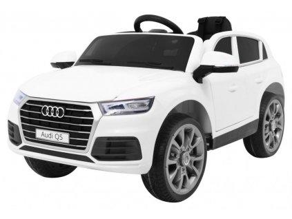 Elektrické autíčko Audi Q5 bílé