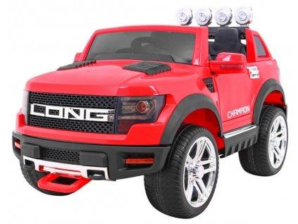 Elektrické autíčko LONG červené