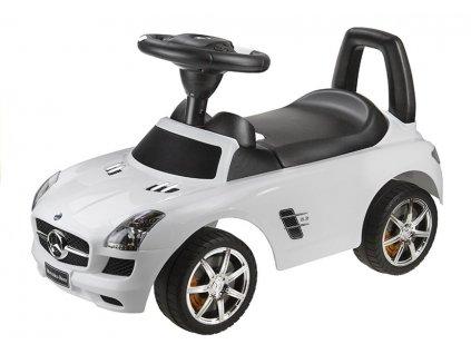 Odrážedlo Mercedes Benz se zvuky bílý