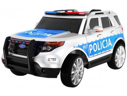 Dětské elektrické autíčko PL Policja