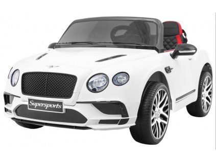 Elektrické autíčko Bentley Continental bílé
