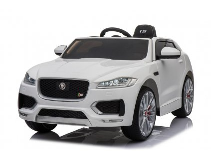 Elektrické autíčko Jaguar F-Pace bílé