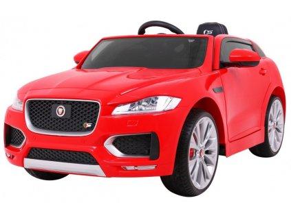 Elektrické autíčko Jaguar F-Pace červené