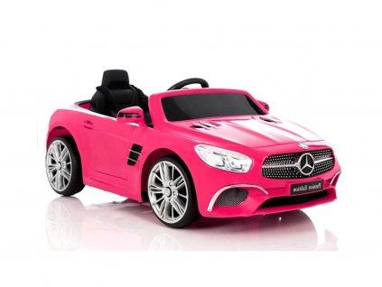 pol pl Pojazd na Akumulator Mercedes SL400 Rozowy 3746 1