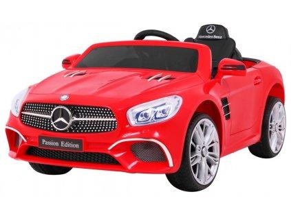 Elektrické autíčko Mercedes SL400 červený