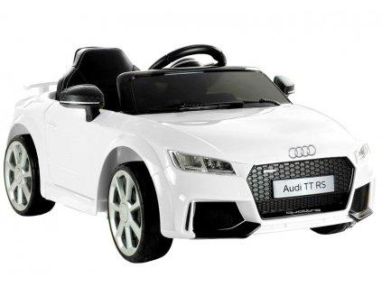 Elektrické autíčko Audi TT RS bílé