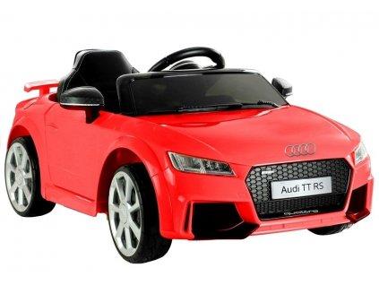 Elektrické autíčko Audi TT RS červené