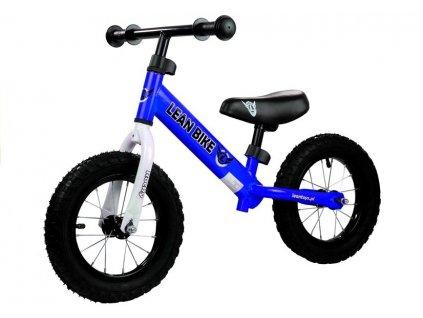Dětské odrážedlo Rocky nafukovací kola modré