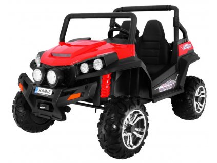 Elektrické autíčko Buggy RSX 4x4 2,4 Ghz červené
