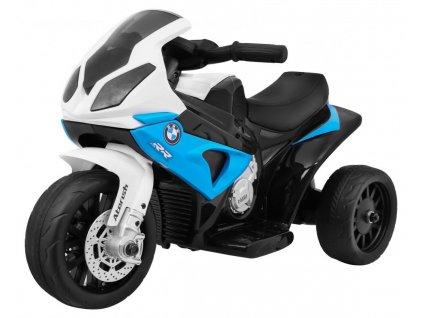 Dětská elektrická motorka BMW S1000RR modrá